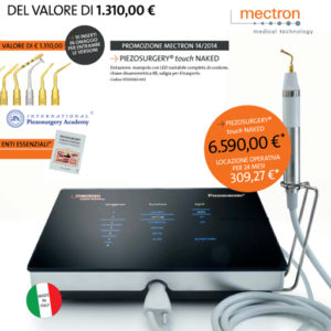 Mectron PiezoSurgery® Touch Naked